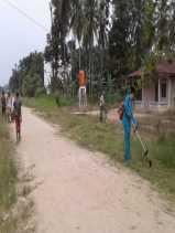Kepala Desa Titi Akar Sukarto : Kegiatan Gotong Royong ini sudah biasa kami laksanakan bersama masyarakat