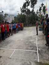 Desa Titi Akar mengadakan Tournamaent Volly Ball dalam rangka Hut Vihara Cinbukiong