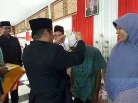 Bupati Lepas 5 dai Perbatasan Dewan Dakwah kabupaten Bengkalis