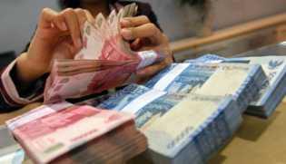 Utang Indonesia Naik sebesar Rp 3,444,82 Triliun