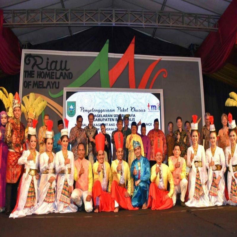 Pagelaran Seni Budaya Bengkalis Dihadiri 5 Duta Besar