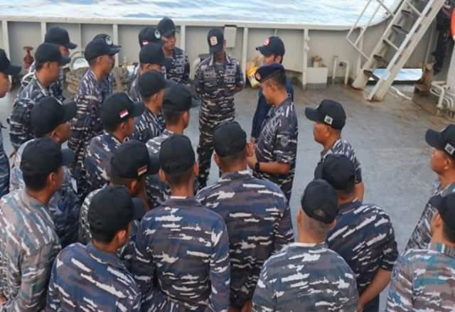 Bakamla RI dan TNI AL Gelar Operasi Khusus amankan Rumpon Di Laut Seram