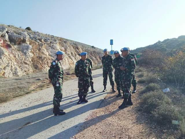 Komandan Satgas Indobatt Konga XXIII-L/UnifilKunjungi Blue Line