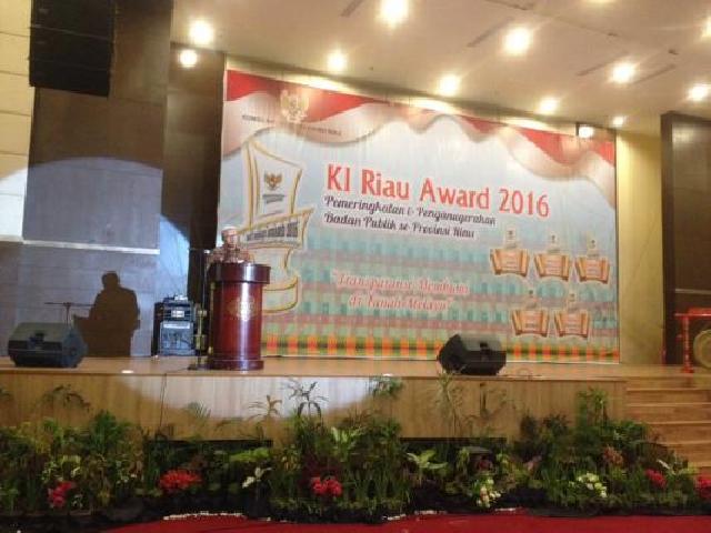 Bengkalis Peringkat II KI Award Riau 2017