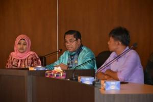 Pelantikan Bupati dan Wabup Bengkalis di GOR Pekanbaru