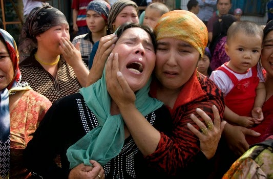 """Sungguh Biadap."""" Zionis Cina Larang Muslim Beribadah"""