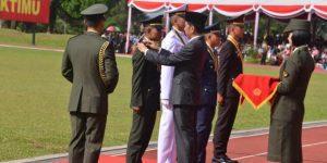Pemuda Desa Dilantik Presiden Jadi Perwira TNI AD